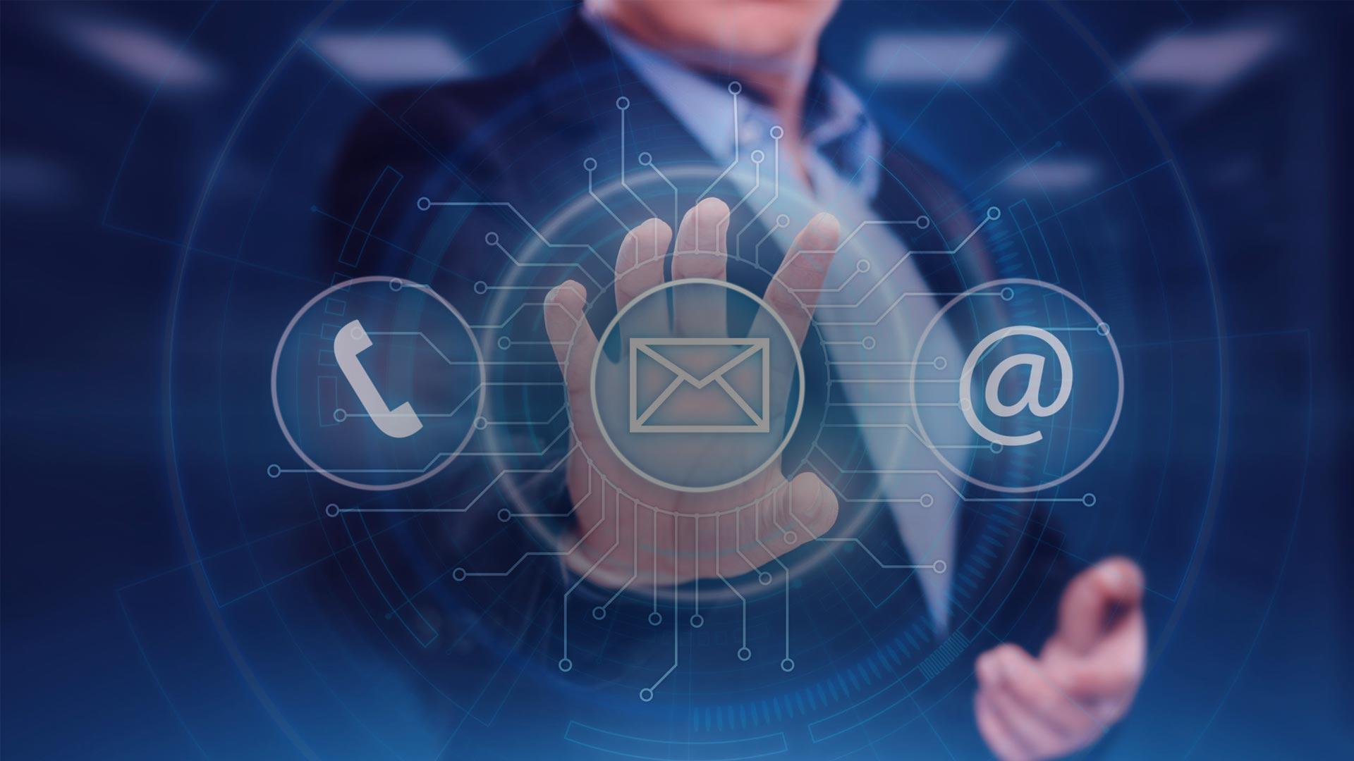 Customer service Internet businesstechnology concept